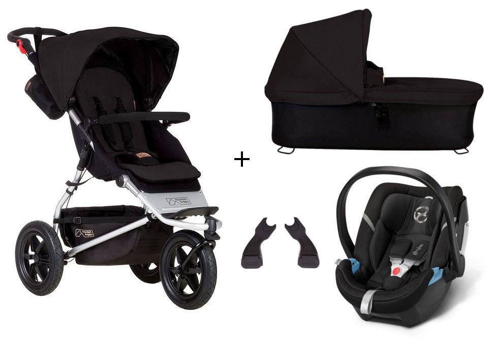 mountain buggy urban jungle 3 kinderwagen mit babywanne. Black Bedroom Furniture Sets. Home Design Ideas