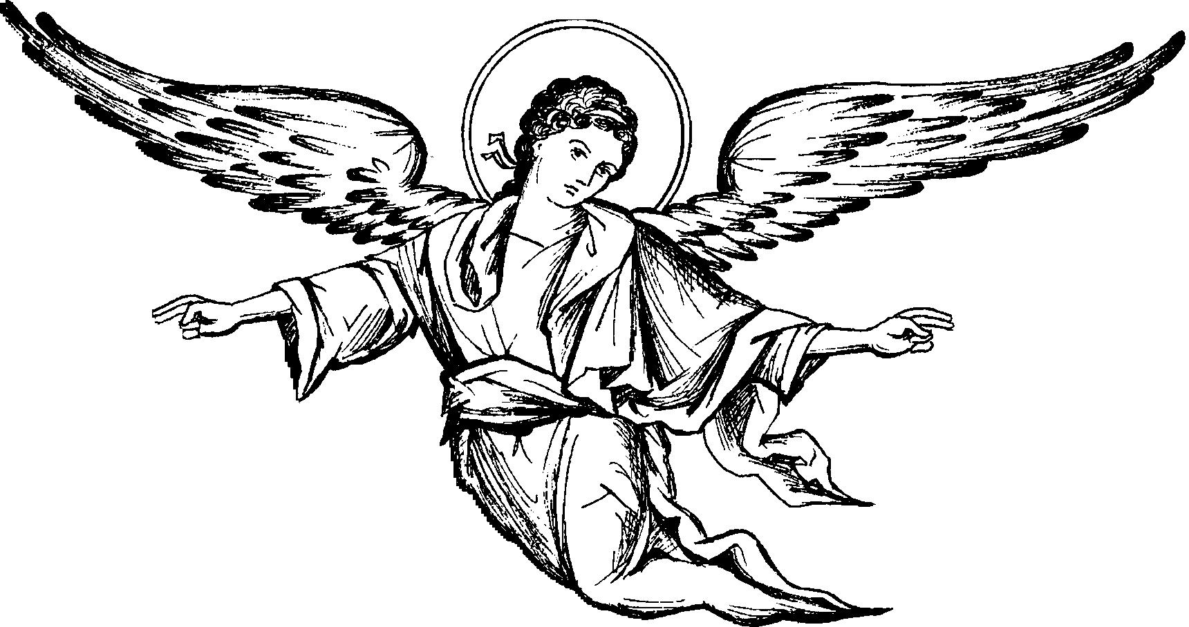 Ангелы картинки в векторе