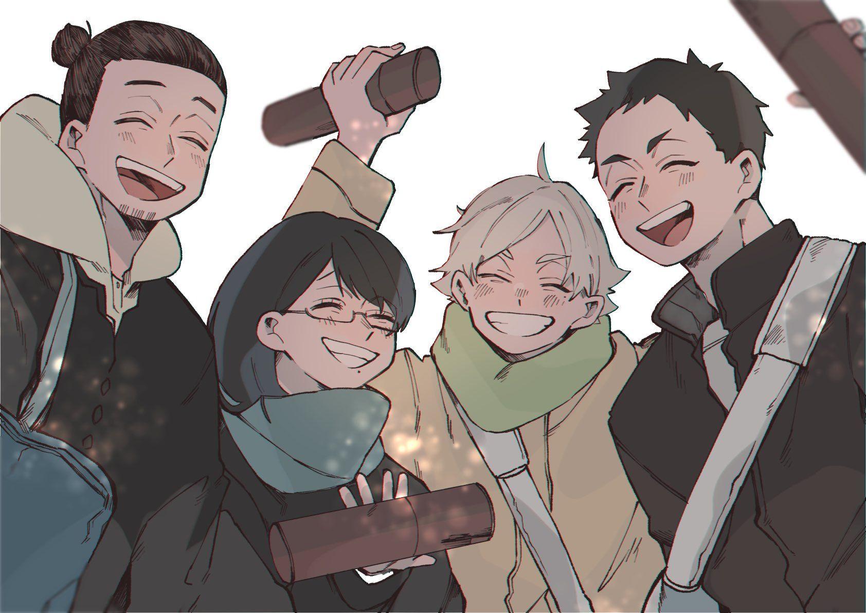 うぃむ👳🏻♂️1日目西い38b on Haikyuu characters, Haikyuu fanart