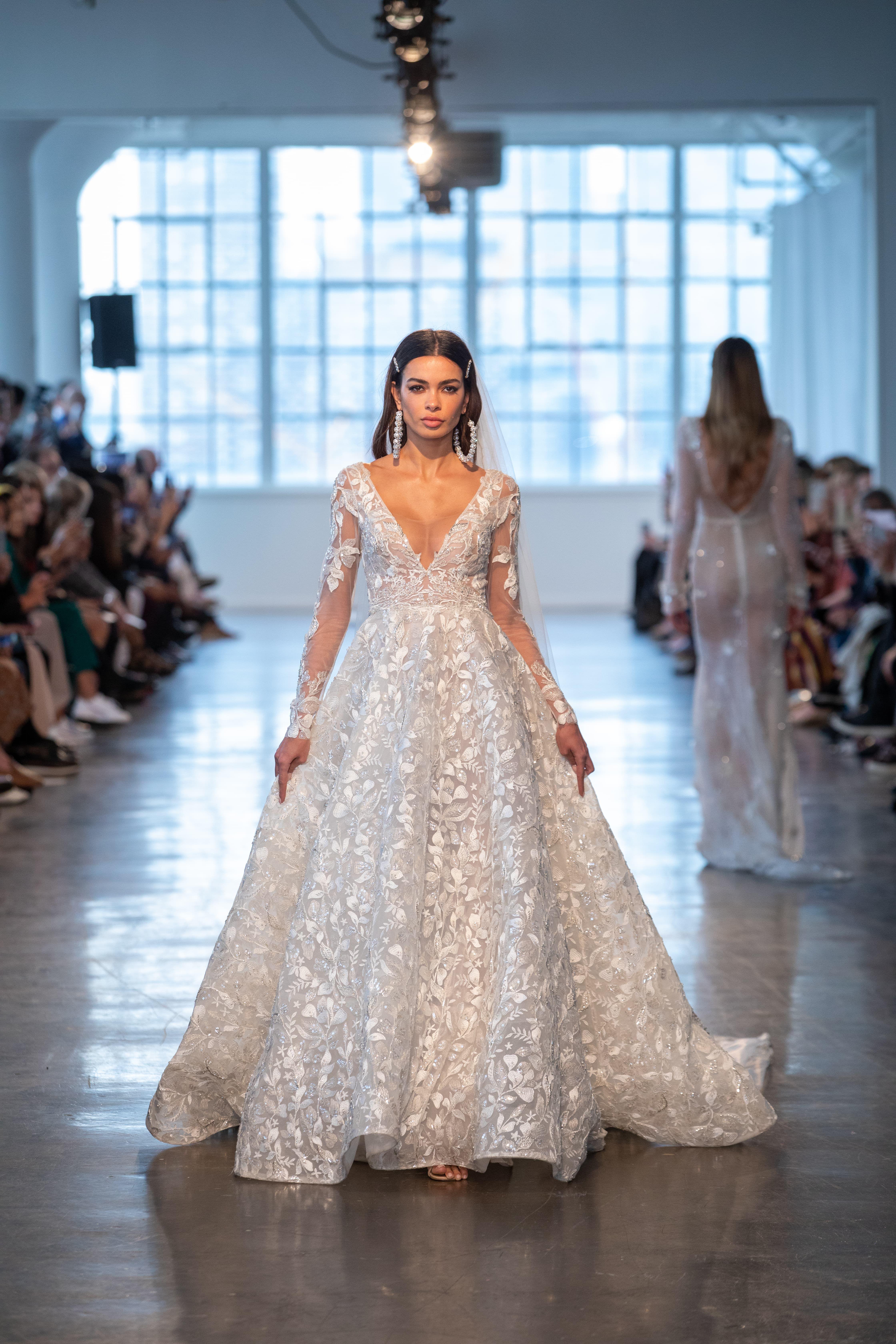 Bridal Fashion Week 2020.Berta Bridal Spring 2020 New York Bridal Fashion Week