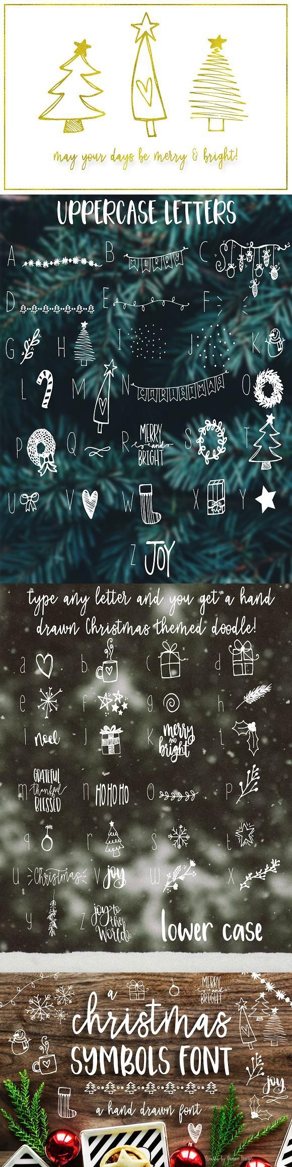 Christmas symbols font cute fonts letter pinterest fonts christmas symbols font cute fonts biocorpaavc Images
