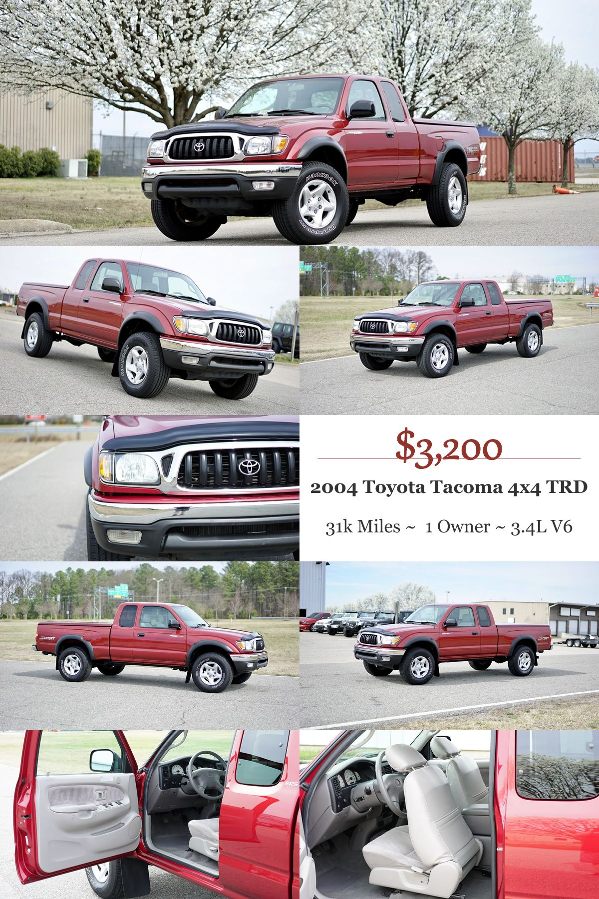 2004 toyota tacoma trd only 3 200 http autos4senior