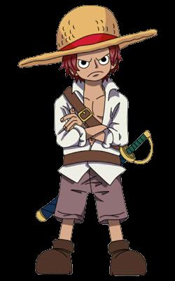 Shanks Kid By Caiquenadal On Deviantart One Piece Anime One Piece Cartoon Cute Animal Drawings Kawaii