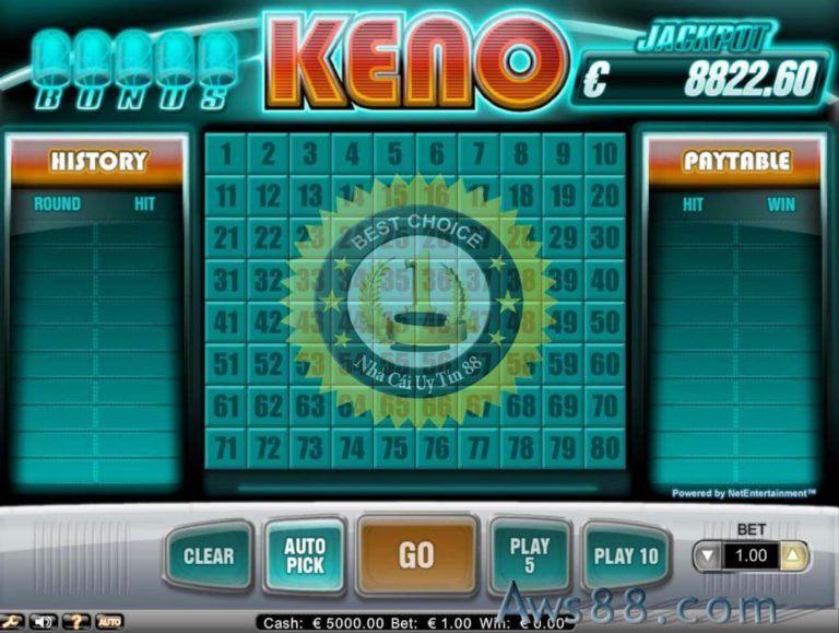 Keno là gì? cách chơi keno trên nhà cái Tinycat99 in 2020