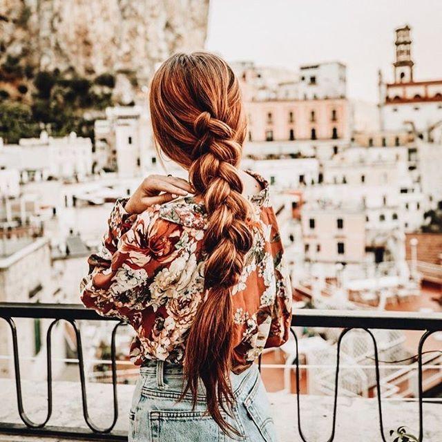 Simple Braid hairstyle