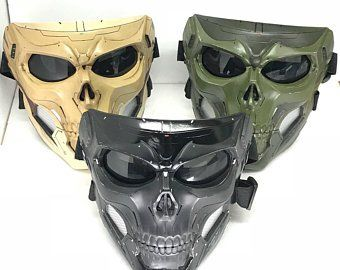 e9cff87800 Tactical look skull mask complete set   all assembled in 2019 ...