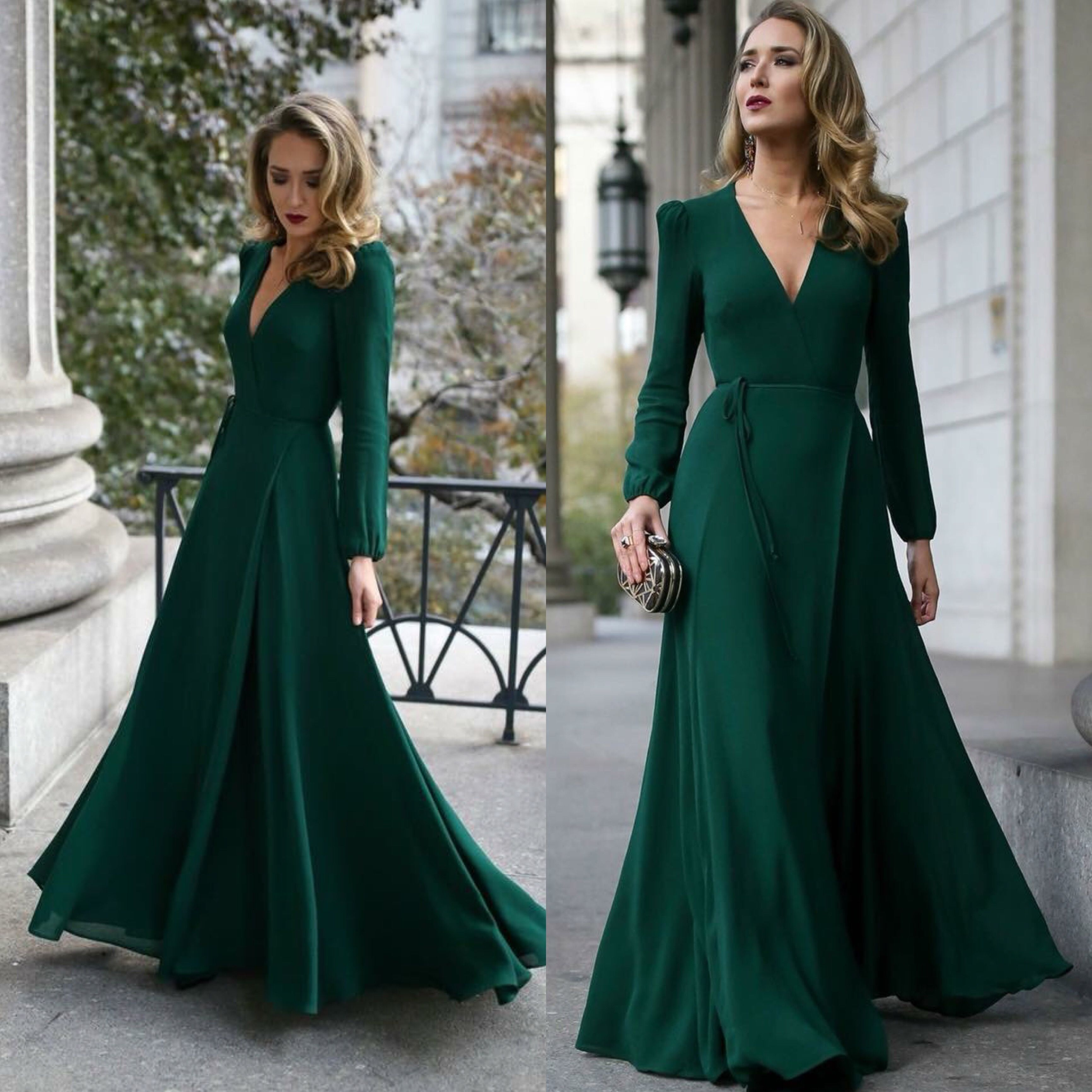 Afghan Nekah Wedding Green Dress Prom Dresses Long With Sleeves Green Prom Dress Long Prom Dresses With Sleeves