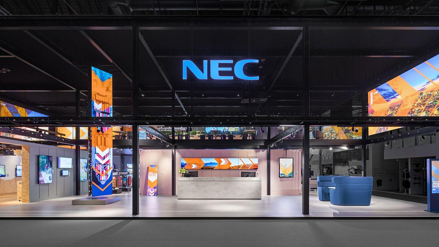 NEC, ISE Amsterdam 2019