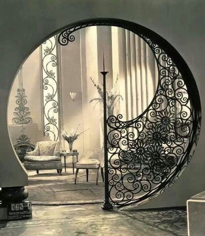 Unusual Interior Doors Especially These Made In Glass Art Deco