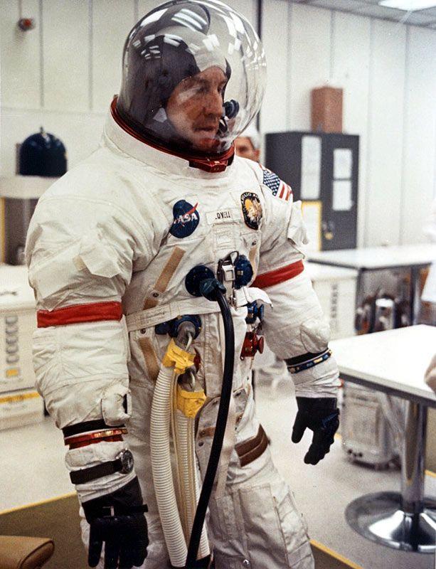 Jim Lovell - Apollo Space Suit   Space Suits   Pinterest ...