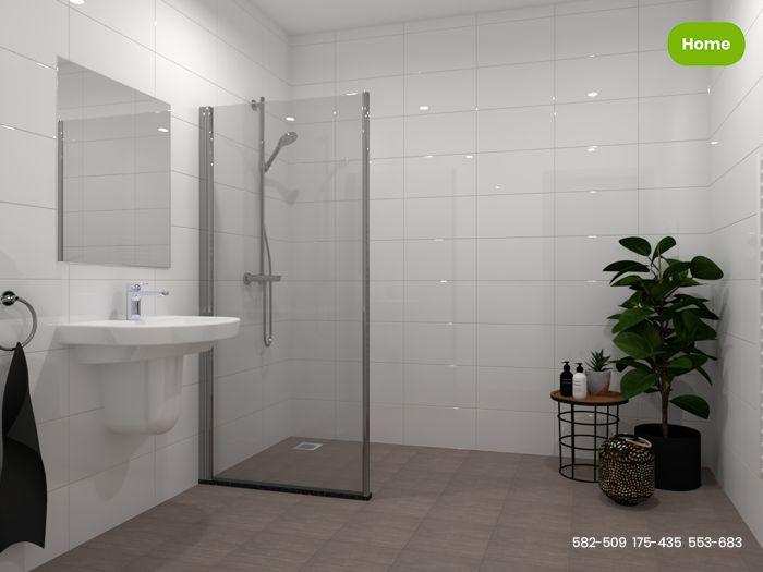Inspiratie uni tegels in harmonieuze badkamer jan groen tegels