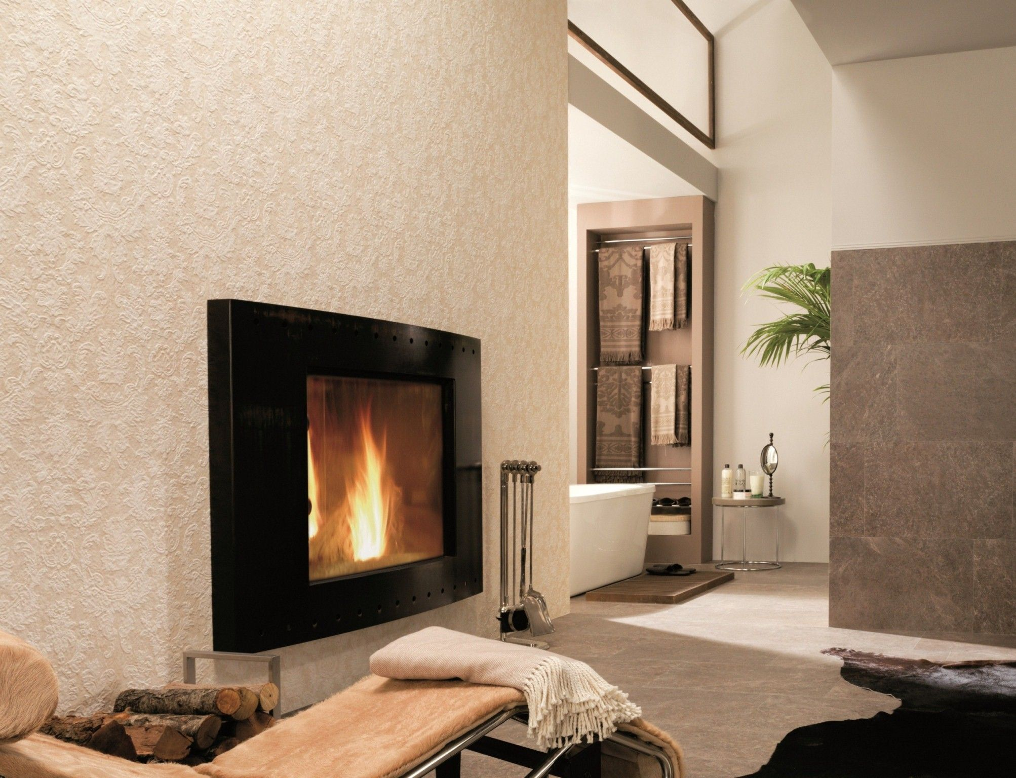 venis florencia beige textured wallpaper look tile available