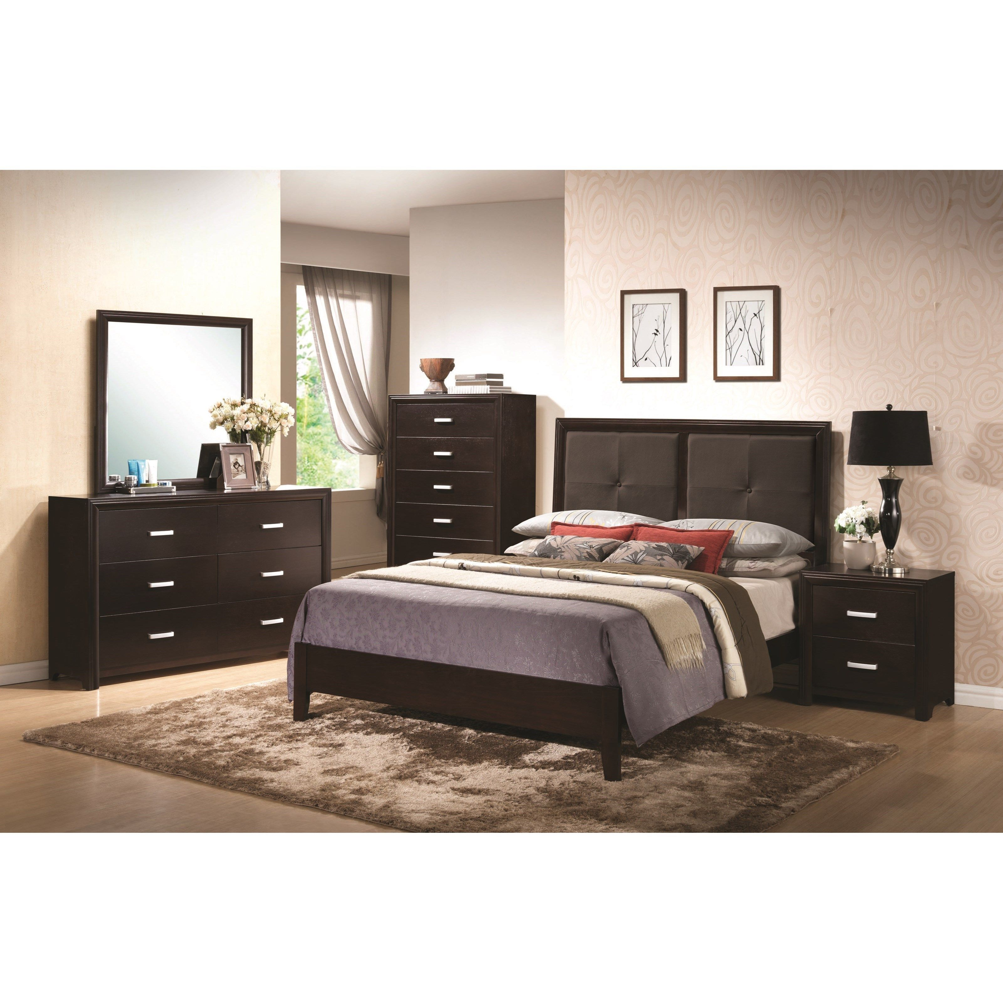 Andreas King Bedroom Group by Coaster bedroom Pinterest