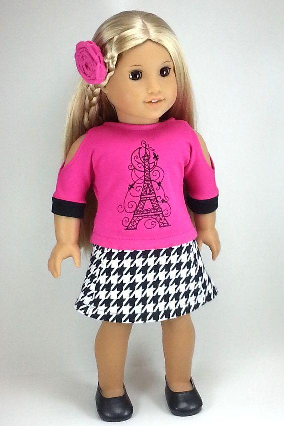 Gonna per vestiti per bambole AG American Doll Dolls da 18 pollici