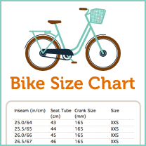 Use These Bike Size Charts To Determine What Size Frame Will Be