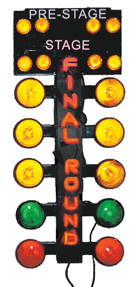 For authentic drag racing action in any room just plug in this for authentic drag racing action in any room just plug in this staging tree it has final round written in neon and you can have the incandescent staging aloadofball Image collections