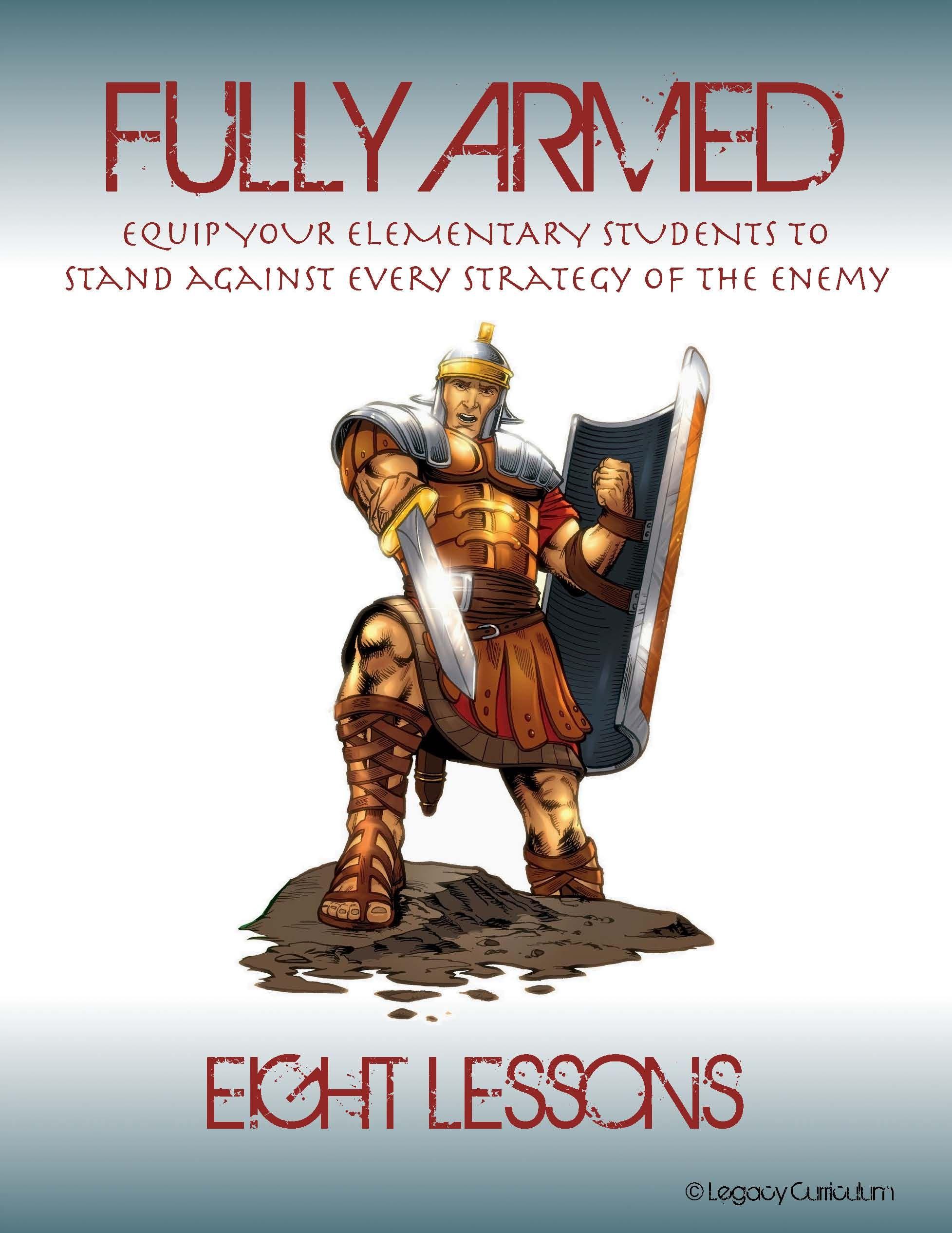 Fully Armed 8 Week Curriculum Includes Memory Verse