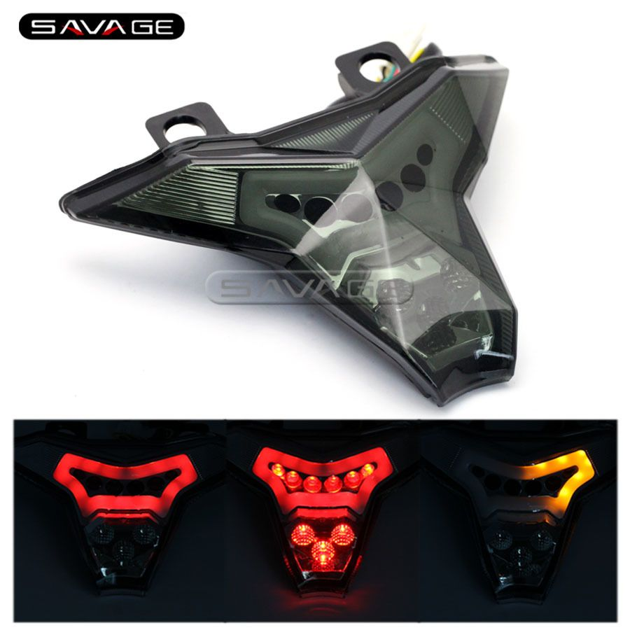 For KAWASAKI Z1000 2014 2017 ZX10R ZX 10R NINJA Motorcycle Integrated LED Tail