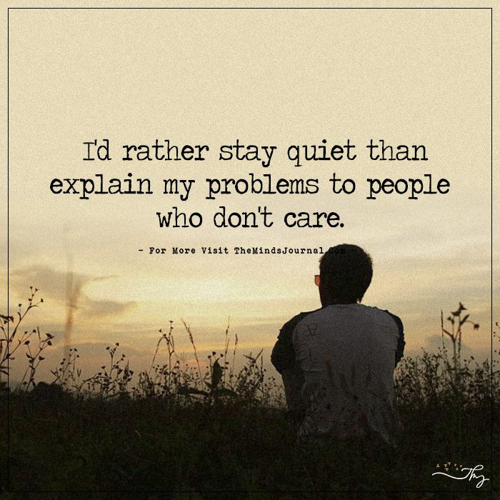 Quotes About Being Quiet: I'd Rather Stay Quiet
