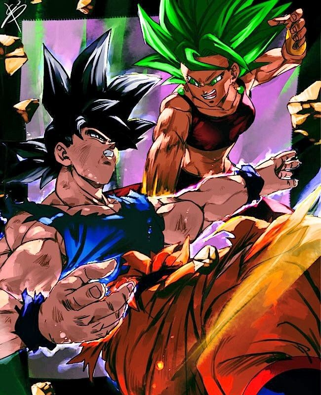 Goku Vs Kefla By Riiya Am Dragon Ball Super Manga Anime Dragon Ball Super Dragon Ball