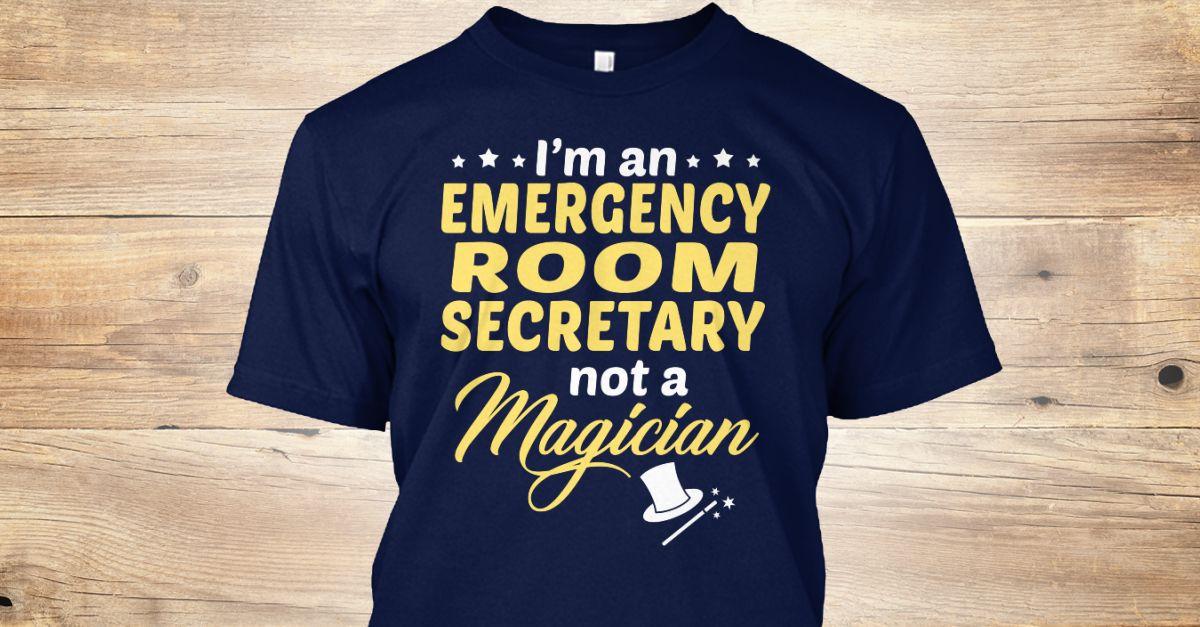 Pin on My Job....Emergency room Secretary