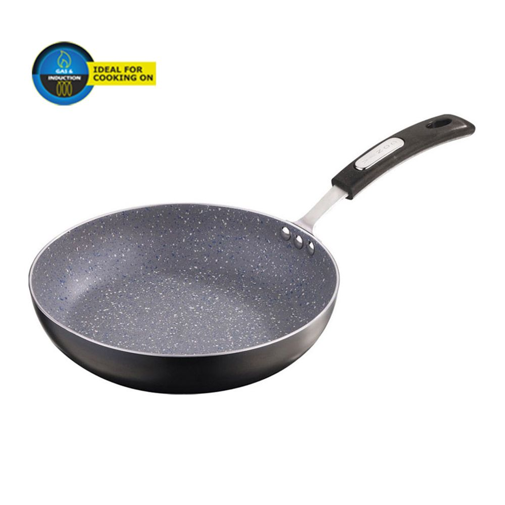 stay cool grip NIRALI Induction-friendly Hard Anodised concave tawa hot plate