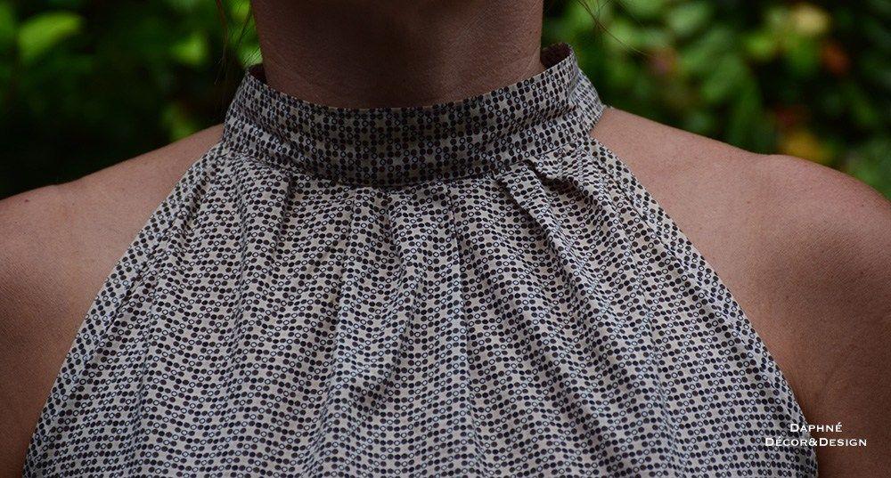 DIY un top foulard pour l'été- www.daphnedecordesign