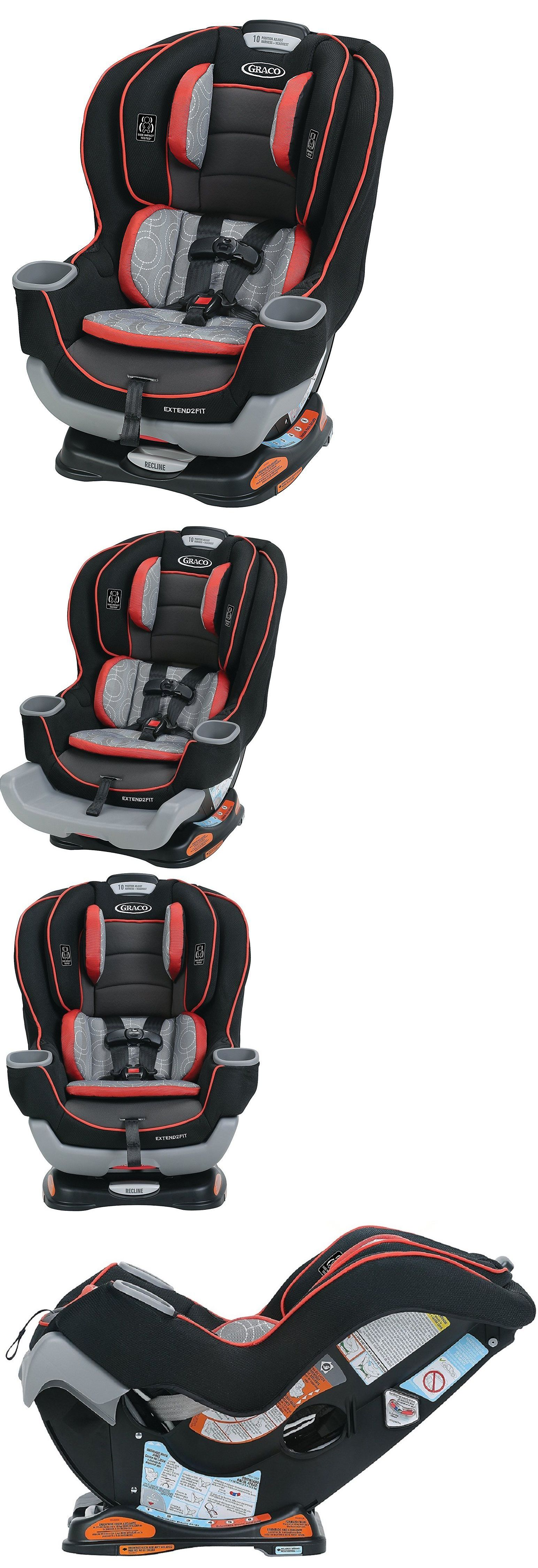 Other Car Safety Seats 2987 Graco Baby Extend2fit Convertible Seat Infant Child Solar New BUY IT NOW ONLY 199 On EBay