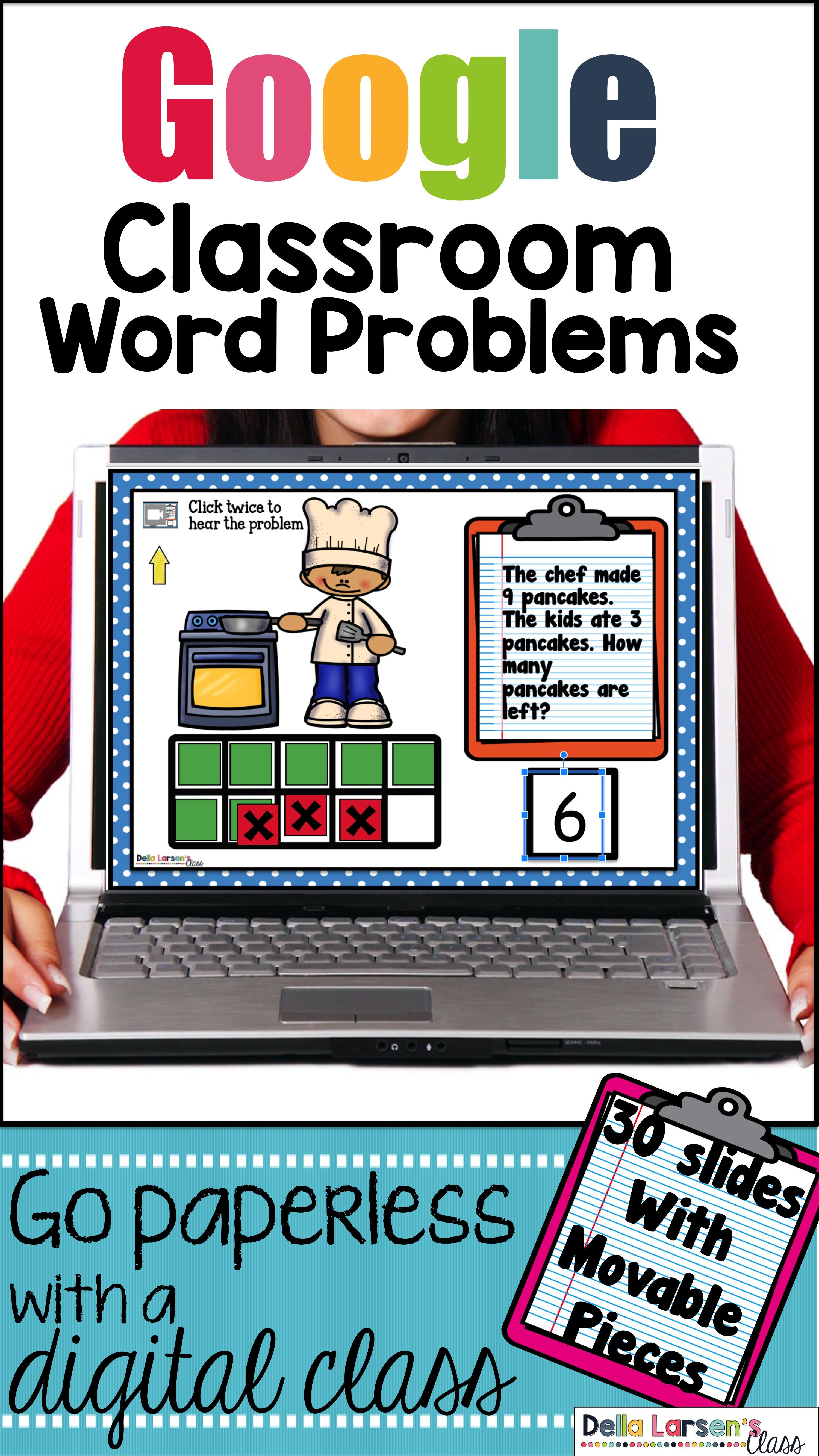 Classroom Addition And Subtraction Word Problems