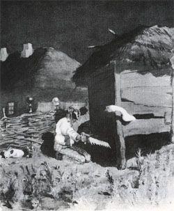 МАСЛОВКА - художники, картины, биографии, фотографии. Живопись, рисунок, скульптура. 20-й век : КАНЕВСКИЙ А. М. KANEVSKIY Aminadav
