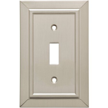 Franklin Brass Classic Architecture Single Switch Wall Plate, 3 Pack, Multicolor