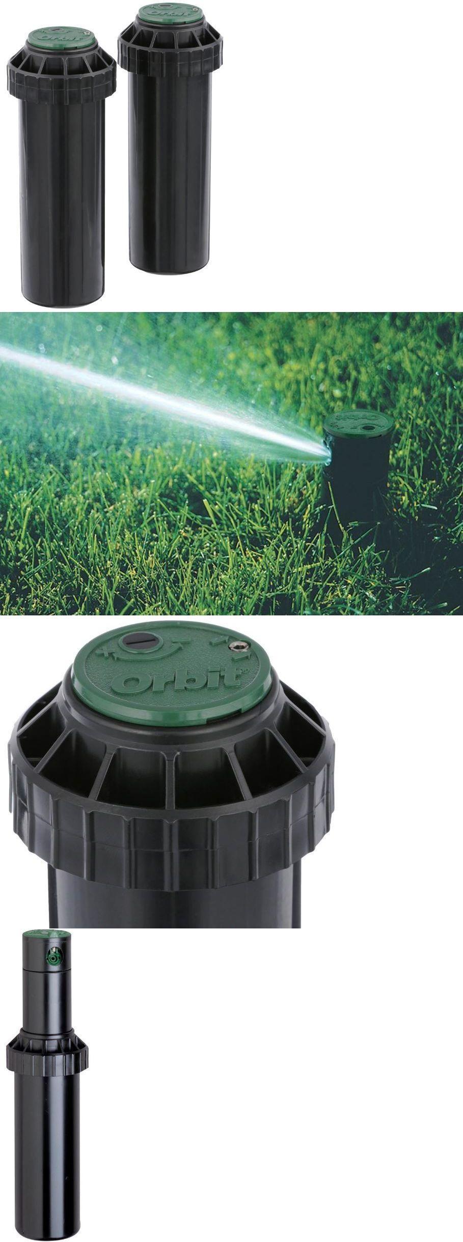 Lawn Sprinklers 20542 Gear Drive Pop Up Rotary Sprinkler Head In Ground System Adjustable Spray 2 Pack Buy It Now Only Lawn Sprinklers Sprinkler Gear Drive