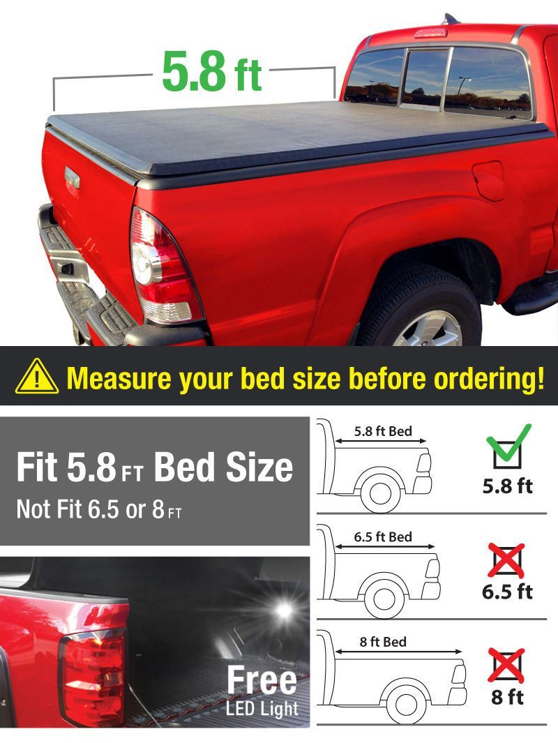 Details about Fits 20042007 Silverado / Sierra 5.8ft Bed