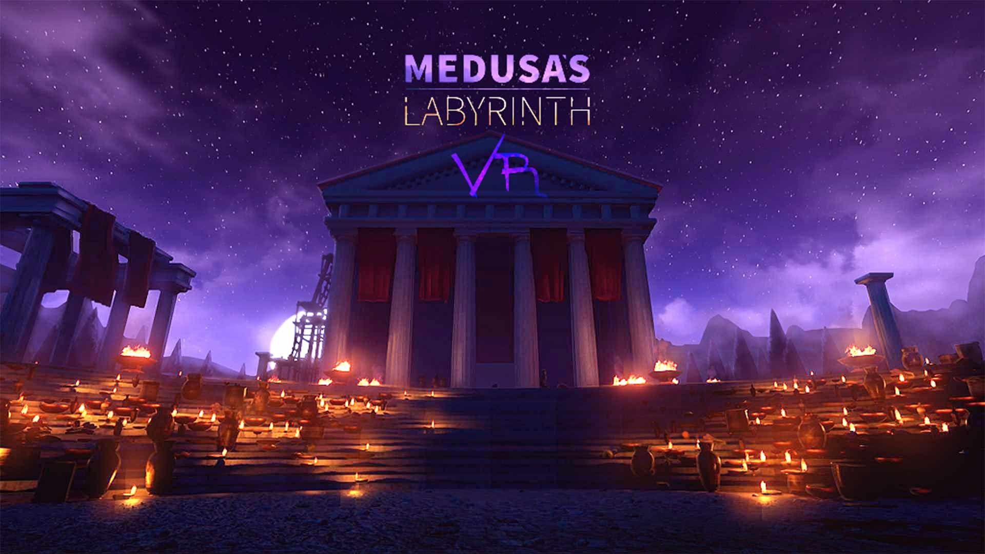 Medusa's Labyrinth VR Game Labyrinth, Vr games, Ancient