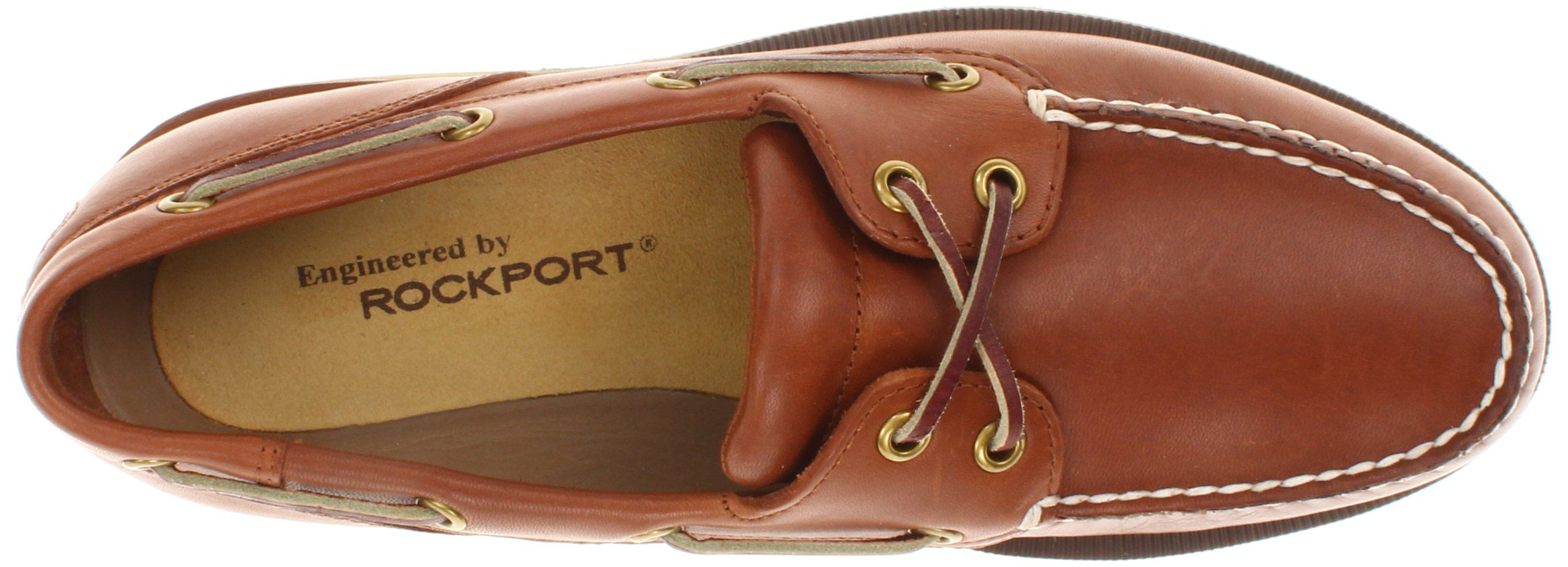 64d3626ae2 Rockport Men s Ports of Call Perth Slip-On Boat Shoe Top View