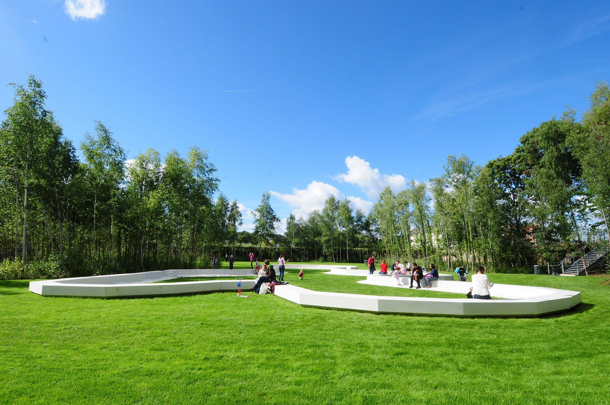 le jardin des tangs goberts nouveau jardin r alis par. Black Bedroom Furniture Sets. Home Design Ideas