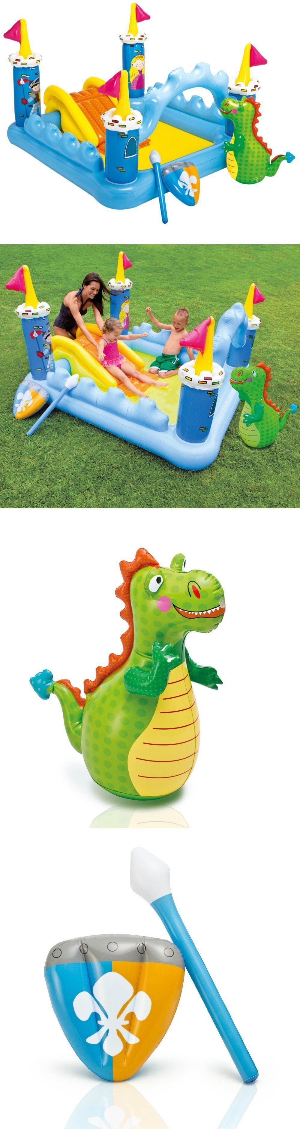 inflatable and kid pools 116407 play center kiddie pool intex