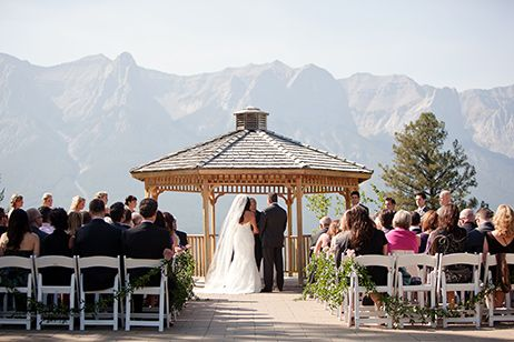 Live your special day among the gorgeous peaks & fresh mountain air at #Silvertip Resort! Book now>1-877-877-5444