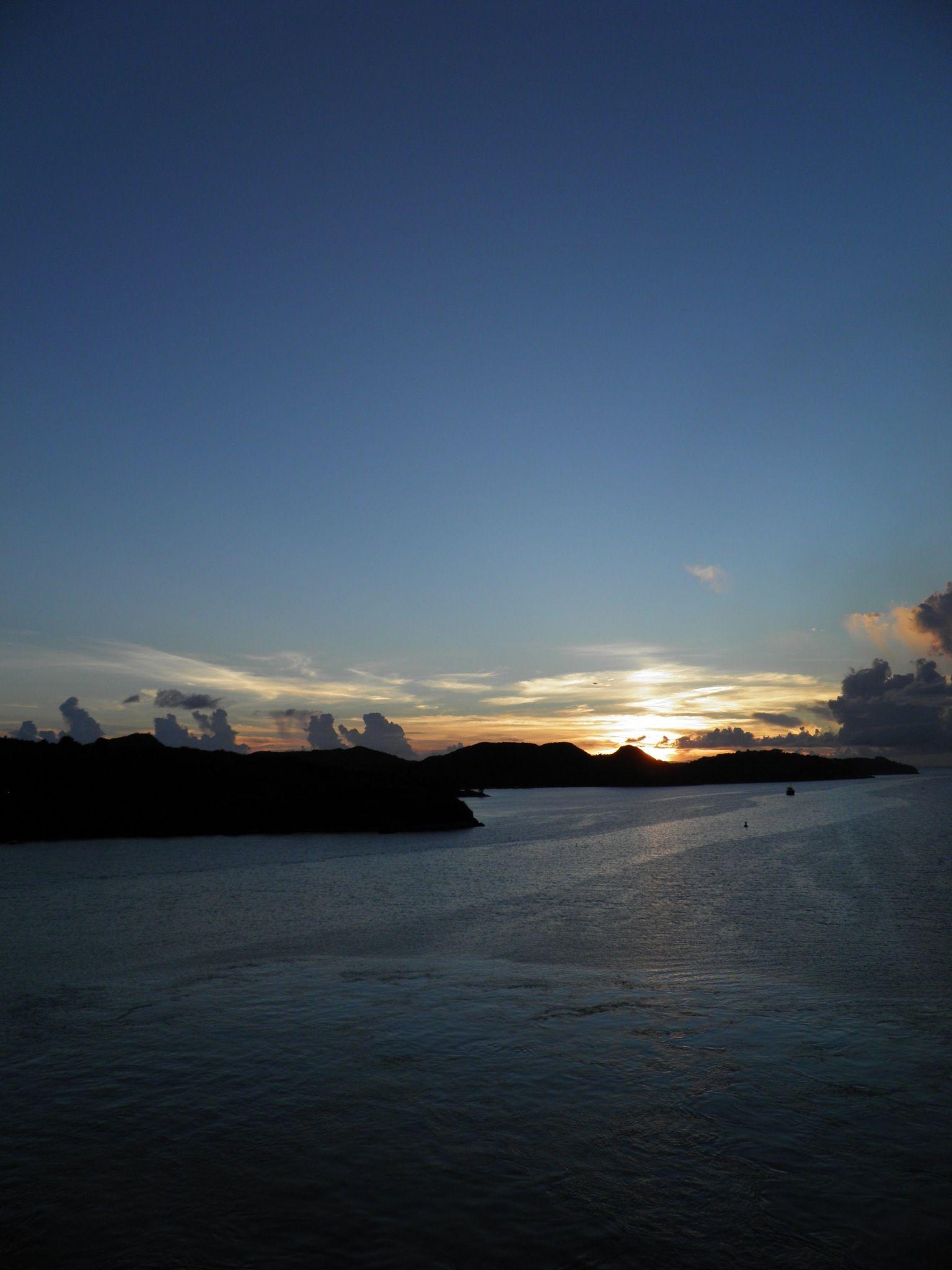 Sunset in Antigua