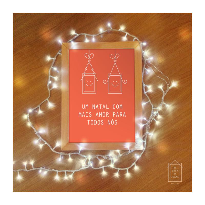 É Natal e a gente deseja a você e sua família tudo de bom que o amor pode trazer. <3