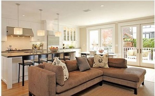 Discover Ideas About Living Room Kitchen Combo
