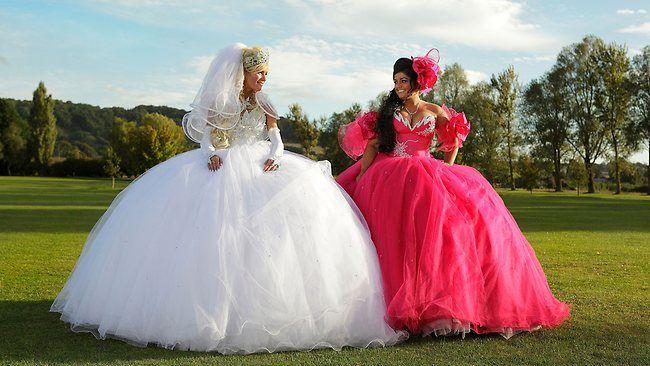 Fat Gypsy Weddings A Six Year Old Bride Yikes