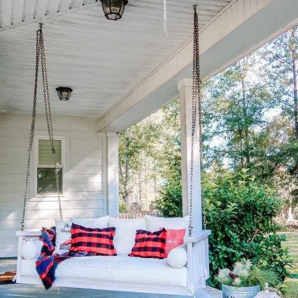 sunday porch swing ballard designs in 2020 porch swing on porch swing ideas inspiration id=51576
