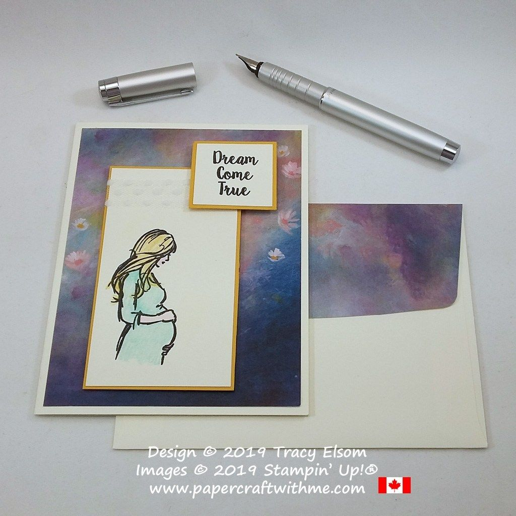 Celebrating A Dream Come True Papercraft With Me Baby Shower Cards Cards Simple Cards