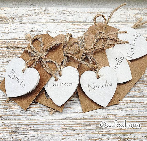 Paquete Personalizado Corazón Favorece Mano Pintado Por Cafeohana