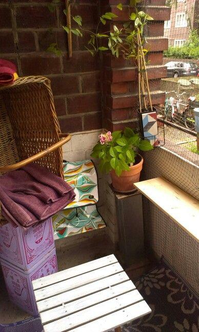 Neues Leben auf dem Balkon
