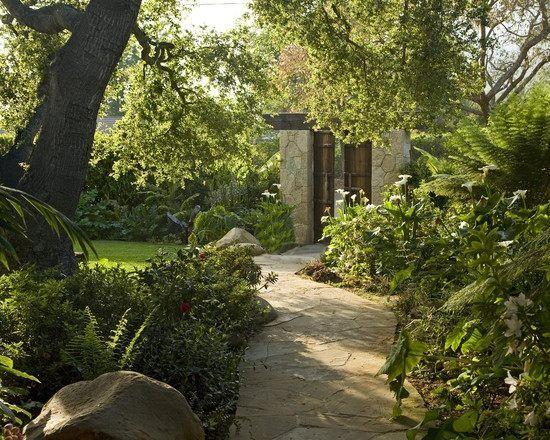 Gartenwege Sandstein-anlegen selbst Ideen-effekte spannungsvoll