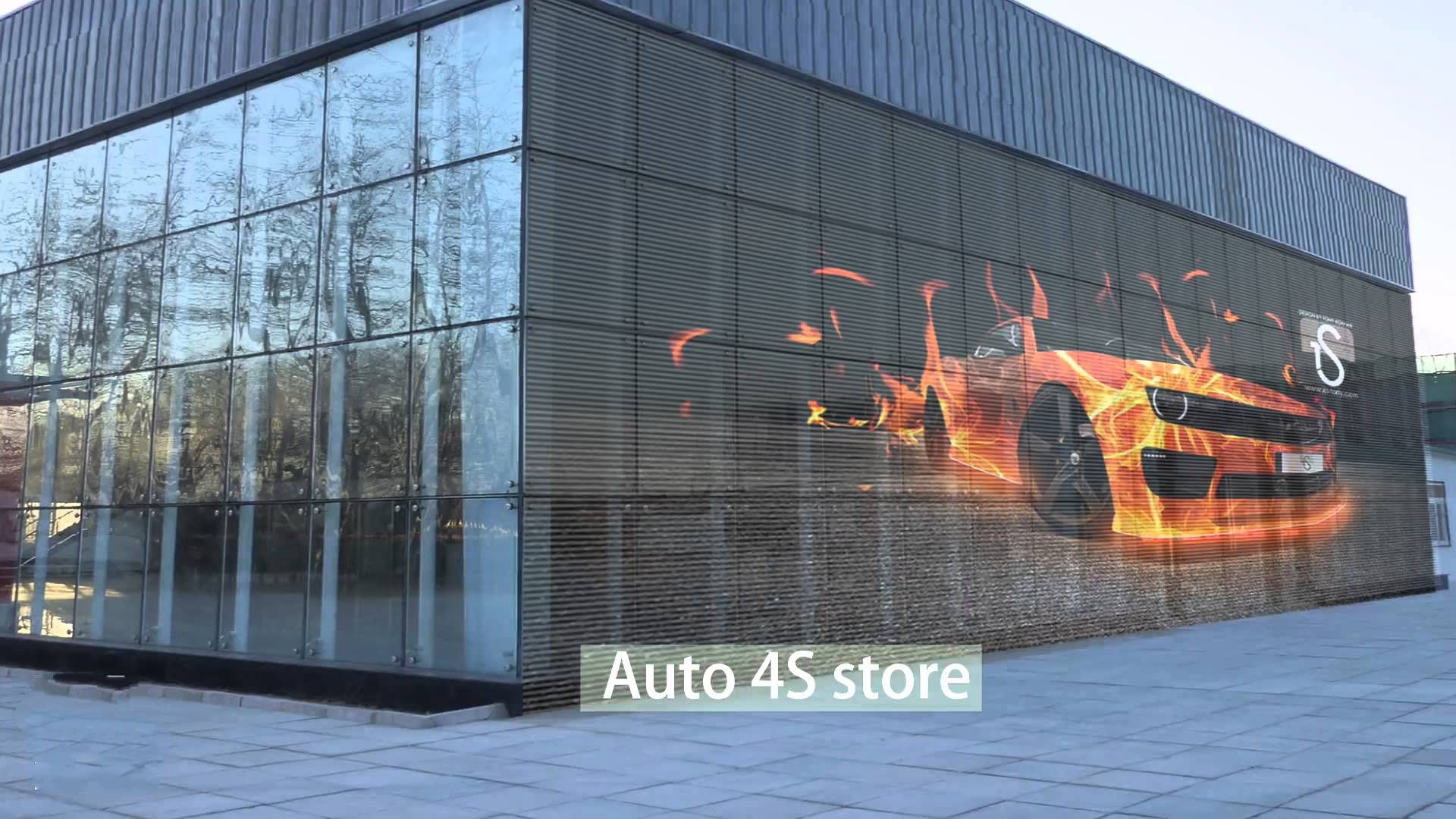 Aristo Led Facade Lighting , Media Wall , Led Display On