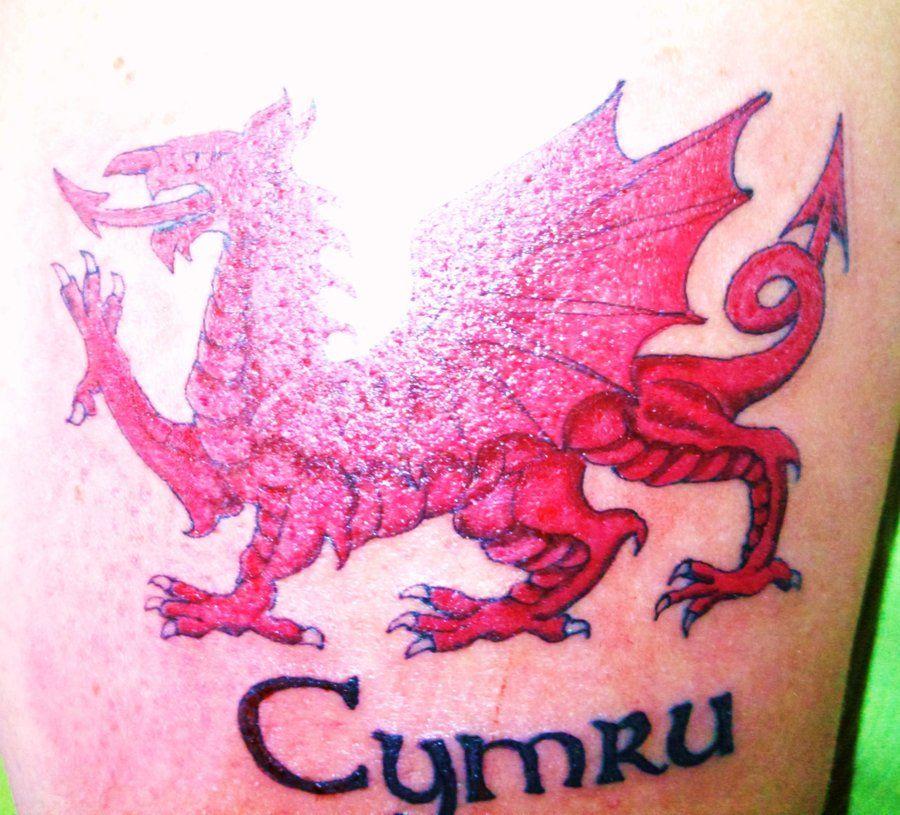 Welsh Flag For Tattoo Designs Tattoo