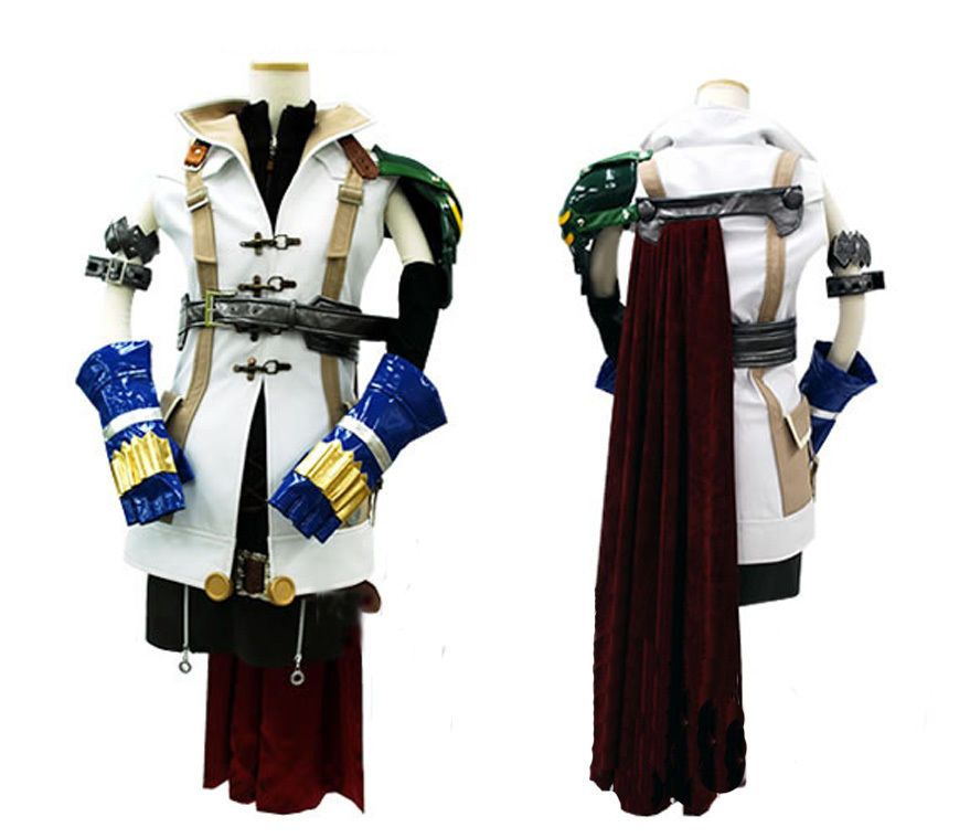 Final Fantasy Cosplay Costume Custom Made -  FF13 FF07